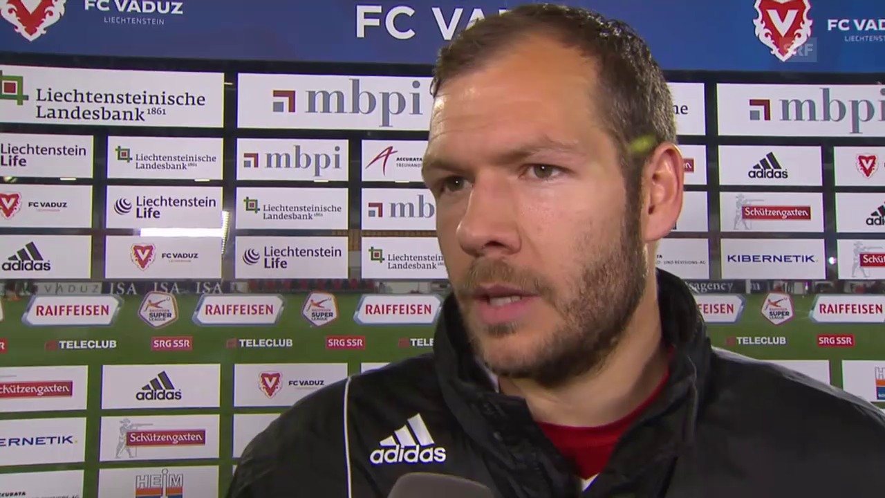 Fussball: Super League, 26. Runde, Vaduz - YB, Interview Burgmeier