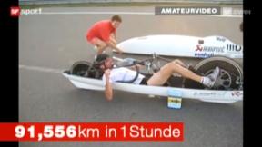 Video ««Tscheggsch de Pögg» – das schnellste Velo der Welt» abspielen