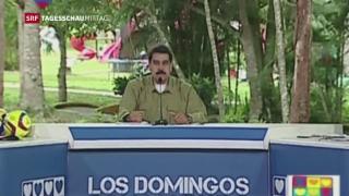 Video «Nicolás Maduro spricht von Terrorakt» abspielen