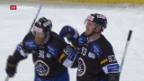 Video «Lugano gewinnt Auftaktspiel am Spengler Cup» abspielen