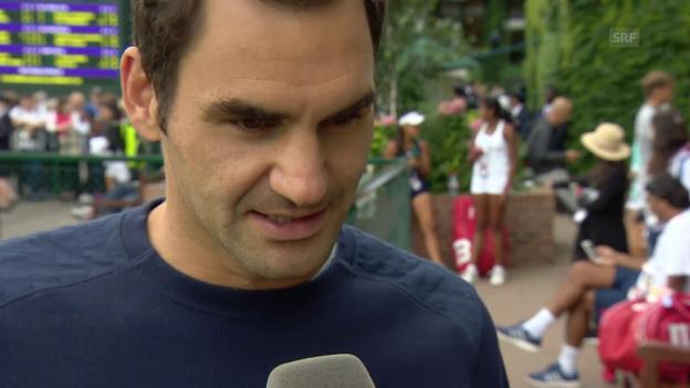 Video «Federer: «Das wird kein Selbstläufer»» abspielen