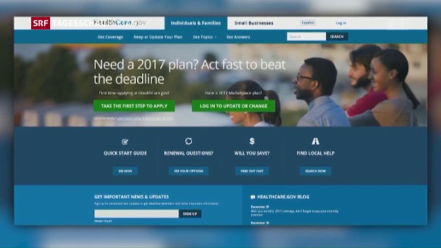 Video ««Obamacare» vor dem Ende» abspielen