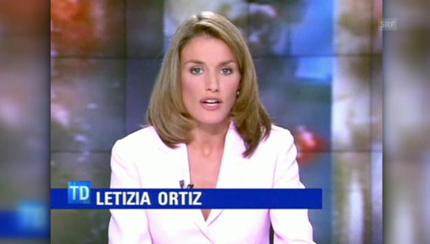 Video «Letizia: Von der Journalistin zur Königin» abspielen