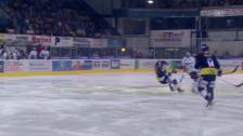 Video «Eishockey: NLA, Zug-Ambri, Foul Christen an Kobach» abspielen