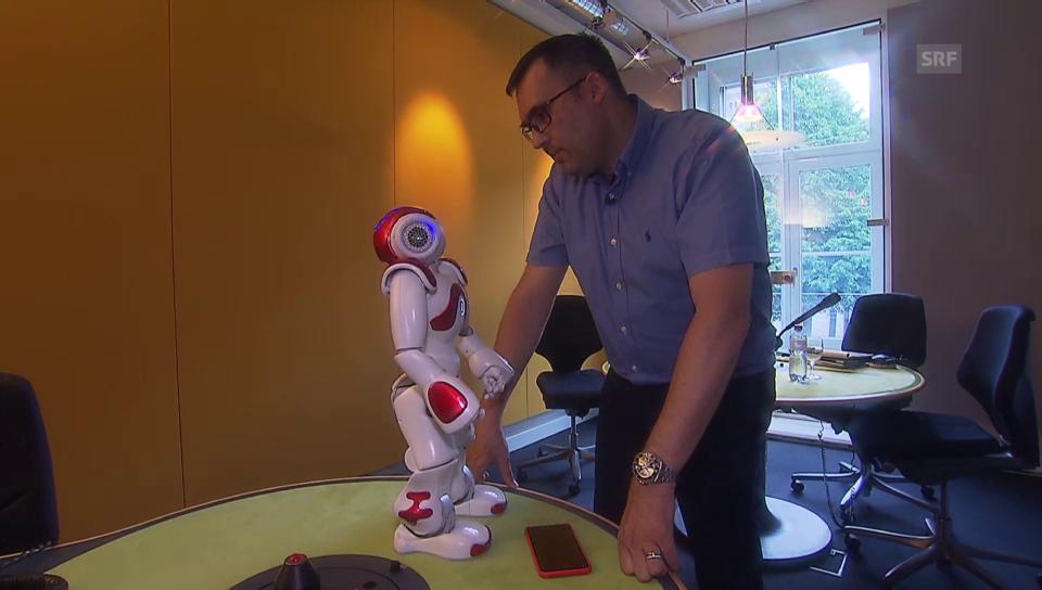 Der Roboter des Walliser Datenschützers