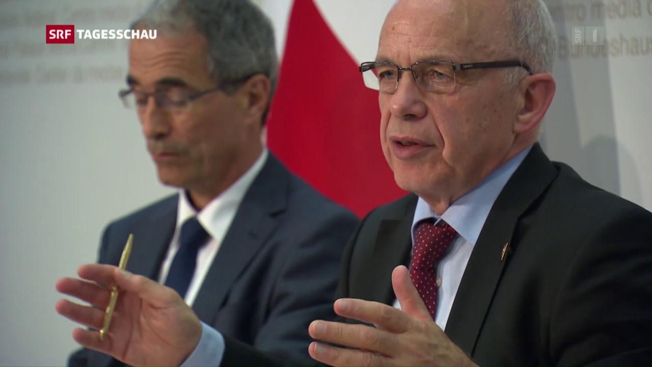 Bundesrat legt Sparprogamm auf