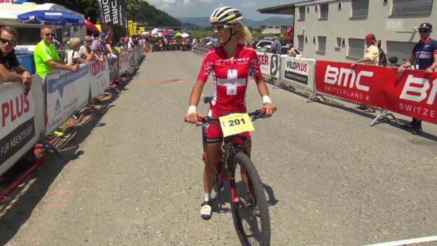 Video «Montainbike: Neff siegt in Gränichen» abspielen