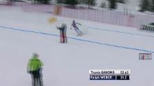 Video «Ski: Abfahrt Männer Santa Caterina, Ralph Weber wird abgewunken» abspielen