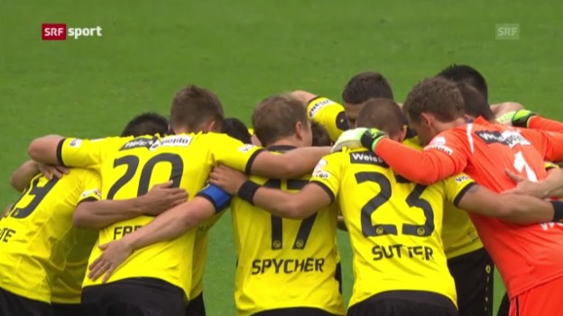 Video «Fussball: YB - Thun («sportpanorama»)» abspielen