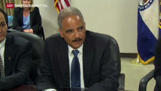 Video «Justizminister Holder zu Besuch in Ferguson » abspielen