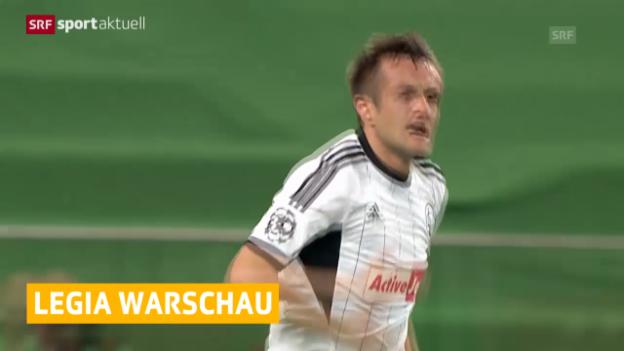 Video «Legia blitzt vor TAS ab («sportaktuell»)» abspielen