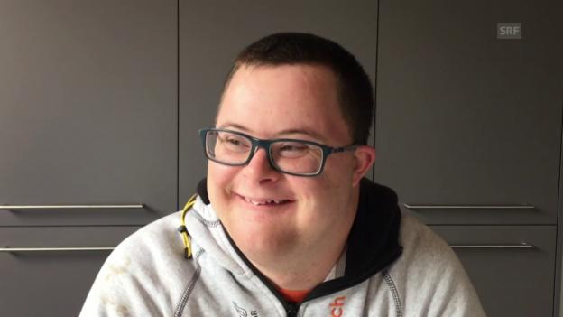 Video «Mein Leben mit dem Down-Syndrom: Johannes Dumelin (26)» abspielen