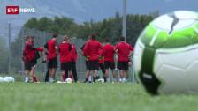 Link öffnet eine Lightbox. Video Der FC Montlingen muss gegen den FC Basel ran abspielen