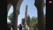 Link öffnet eine Lightbox. Video Gotteskrieger sprengen symbolträchtige Moschee abspielen