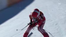 Video «Ski alpin: Olympia-Abfahrt, Dominique Gisin» abspielen