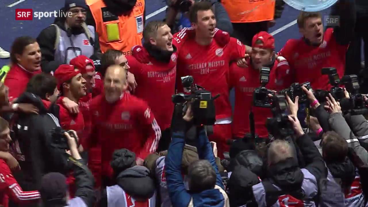 Fussball: Bundesliga, Hertha BSC - Bayern München («sportlive, 25.03.2014»)