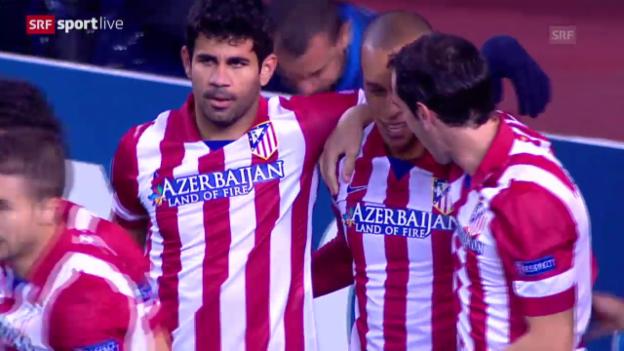 Video «Fussball: Atletico Madrid - Austria Wien» abspielen