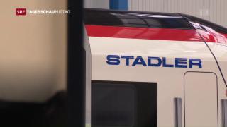Video «Stadler Rail wirft Auge auf Iran» abspielen