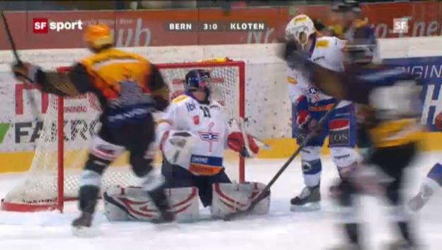 Video «NLA: Bern - Kloten («sportaktuell»)» abspielen