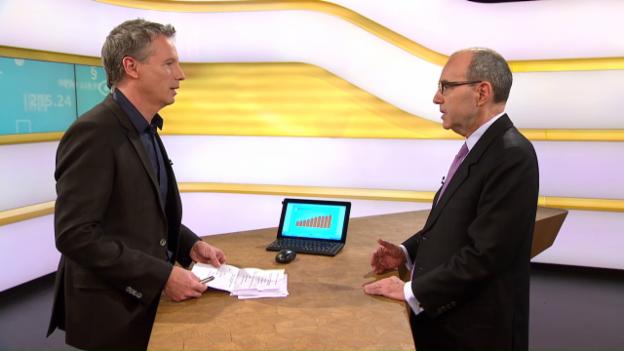 Video «Studiogespräch mit Thomas Cueni vom Weltpharmaverband IFPMA» abspielen