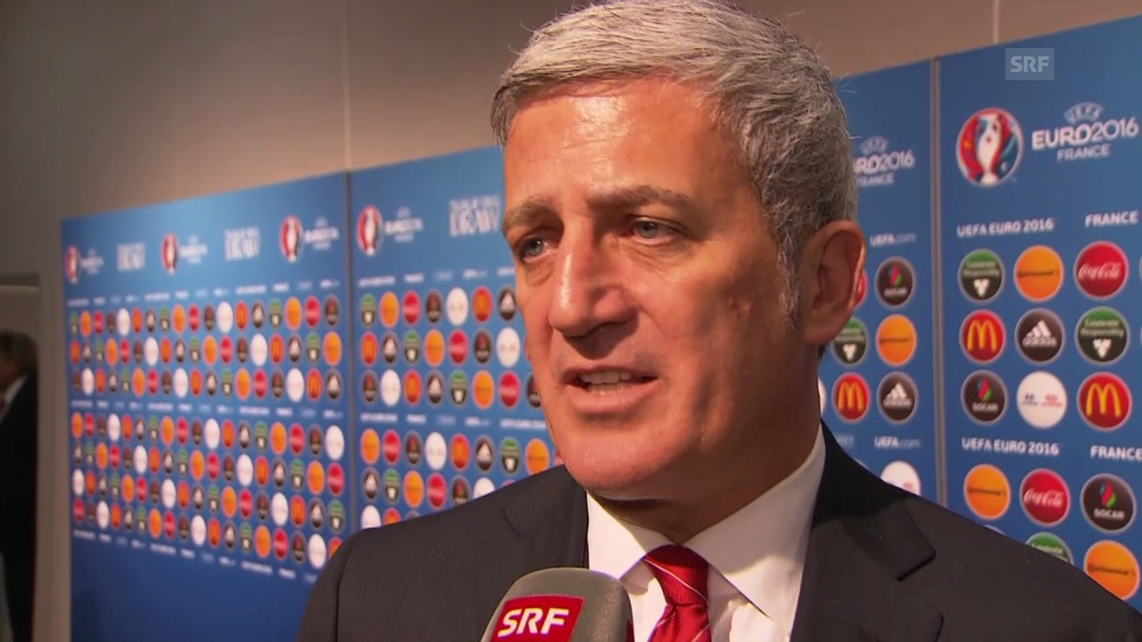 Fussball: Interview mit Vladimir Petkovic