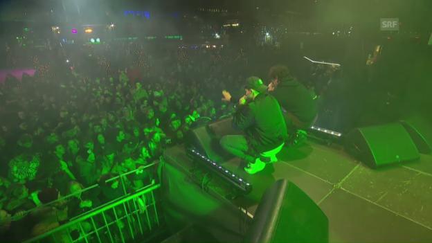 Video «Mimiks' Zugabe auf dem Luzerner Europaplatz» abspielen