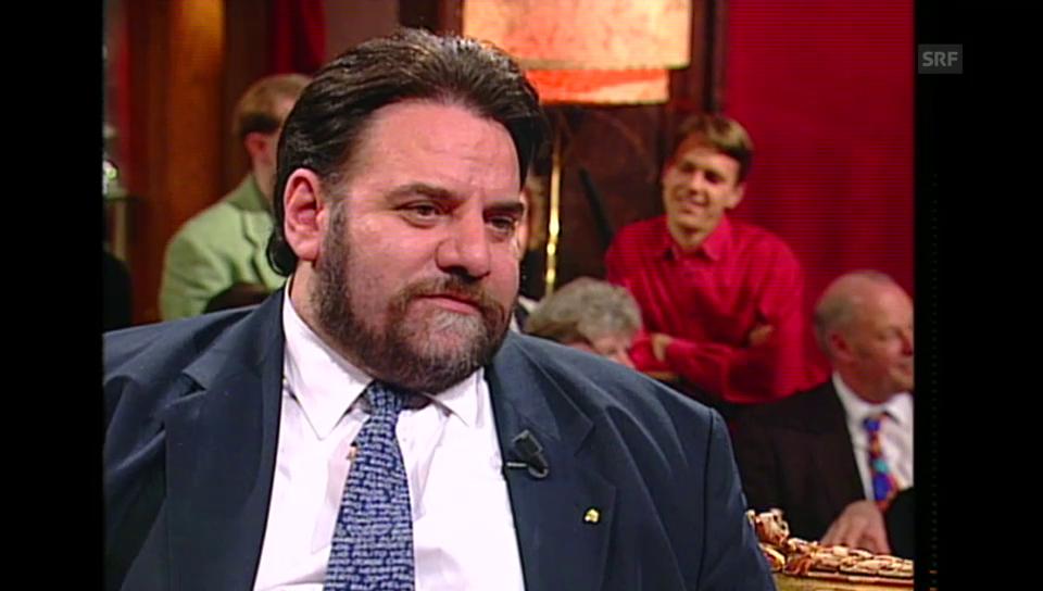 Flavio Maspoli zu Gast bei «Viktors Spätprogramm» (Sendung vom 12.2.1995)