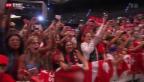 Video «Die Nati wird gefeiert» abspielen