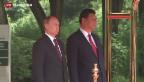 Video «Wladimir Putin zu Besuch in China» abspielen