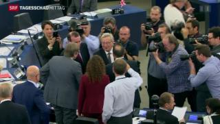 Video «Abstimmung im Europaparlament » abspielen