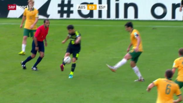 Video «Spielbericht Spanien - Australien» abspielen