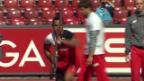 Video «Stabhochsprung: Richards meistert die 5,40 m» abspielen
