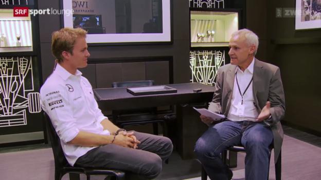 Video «Formel 1 – Mercedes-Star Nico Rosberg im Gespräch» abspielen