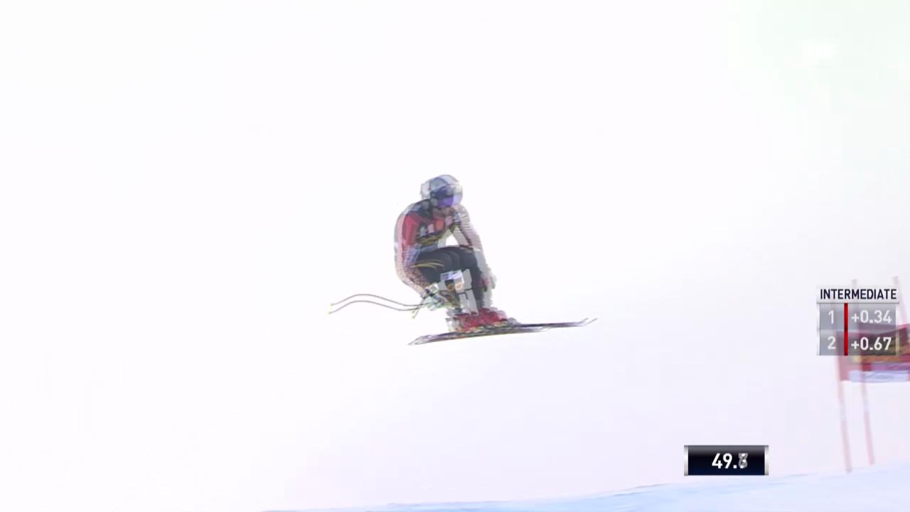 Ski Alpin: Abfahrt Männer in Gröden, Fahrt von Guay («sportlive», 21.12.2013)