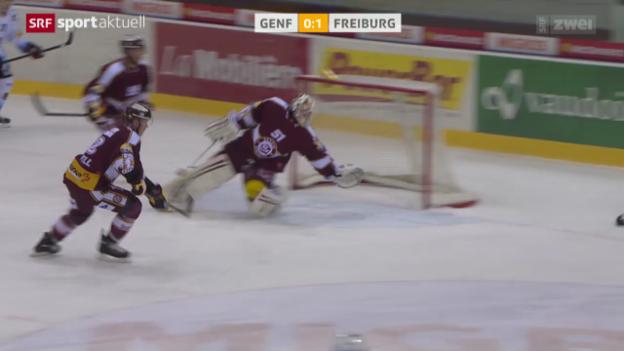 Video «Eishockey: NLA, Genf-Servette - Freiburg» abspielen