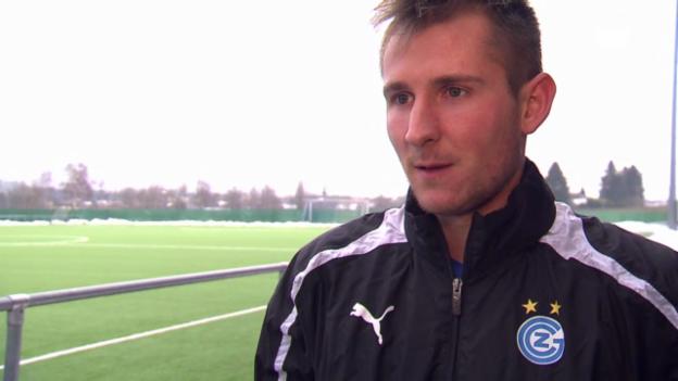 Video «Izet Hajrovic vor dem Spitzenkampf» abspielen