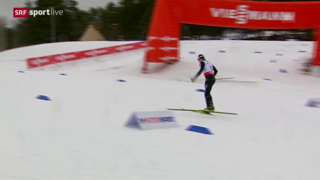 Video «Langlauf: WM 2015, 15 km Skating» abspielen