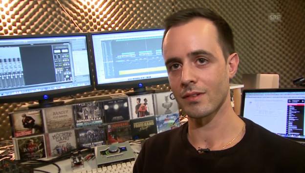 Video «Fridolin Walcher über die Zusammenarbeit mit Fanta 4» abspielen