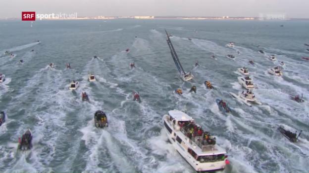 Video «Wieder gewinnt ein Franzose die Vendée Globe» abspielen