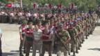 Video «Grösster Putsch-Prozess hat begonnen» abspielen