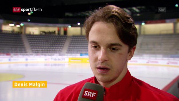 Video «Schweizer Nati mit Malgin» abspielen