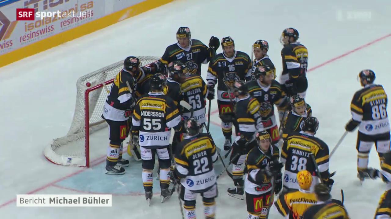 Eishockey: Lugano-Kloten