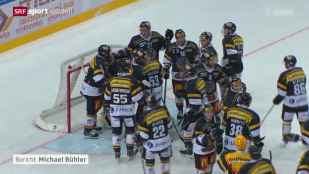 Video «Eishockey: Lugano-Kloten» abspielen
