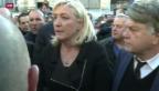 Video «Eigene Kundgebung des Front National» abspielen
