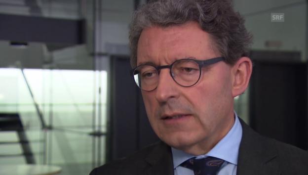 Video «Schluss mit Spekulationen: Heinz Brand nimmt sich aus dem Rennen» abspielen