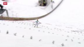 Video ««Tscheggsch de Pögg»: Wie misst man die Weite beim Skispringen?» abspielen