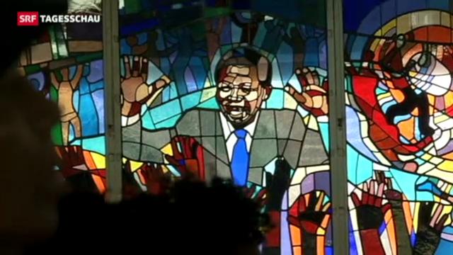 Südafrikanische Bevölkerung sorgt sich um Mandela