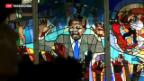 Video «Südafrikanische Bevölkerung sorgt sich um Mandela» abspielen