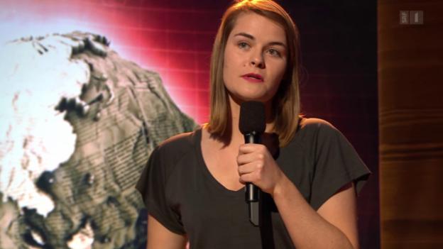 Video «Auftritt: Hazel Brugger» abspielen