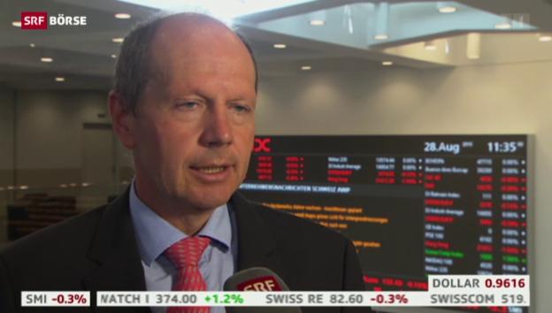 Video «SRF Börse vom 28.08.2015» abspielen